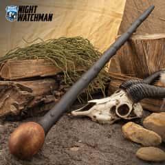 Night Watchman Blackthorn Shillelagh Walking Stick