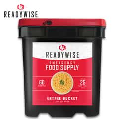 Wise Grab-and-Go Gourmet Food Kit -  60 Servings
