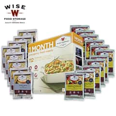 Wise Single Person One-Month Emergency Food Supply