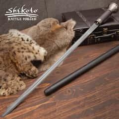 Shikoto Damascus Fantasy Sword Cane