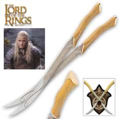 LOTR - Fighting Knives of Legolas Greenleaf
