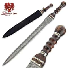 Historical Damascus Gladiator Sword