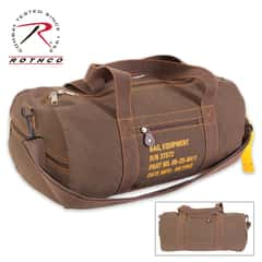 Canvas Equipment Bag - Brown