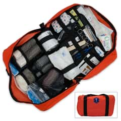 Elite Orange Master Camping First Aid Kit