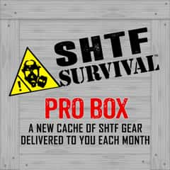 SHTF Mystery Survival Gear Monthly Subscription Box - PRO