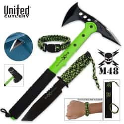 M48 Apocalypse Undead Survival Kit with Free Survival Bracelet