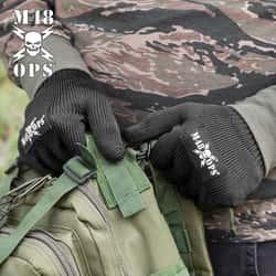 M48 Cut Resistant Kevlar Gloves - Black