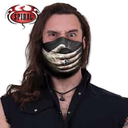 Speechless Protective Face Mask - 100 Percent Cotton Construction, Breathable, Washable, Original Artwork, Adjuster