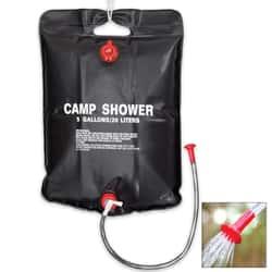 5-Gal Solar Heater Camping Shower