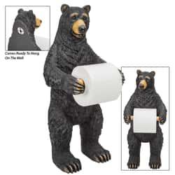 Bear Standing Toilet Paper Holder