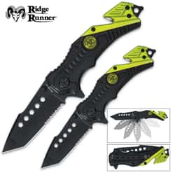 Ridge Runner Apocalypse 2pc Assisted Opening Folder Set