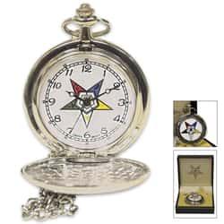Eastern Star Pocket Watch