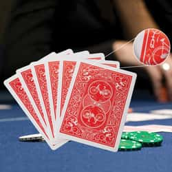 Secretly Marked Playing Cards - Standard Size Deck, Looks Normal, Discreet Suit And Number Markings, Sturdy Construction