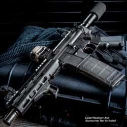 "TacFire AR-15 Pistol Build Kit - Fits Standard AR-15 Lower, 7 1/2"" Barrel, 5.56 NATO Bolt Carrier Group"