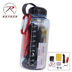 Rothco Water Bottle Survival Kit