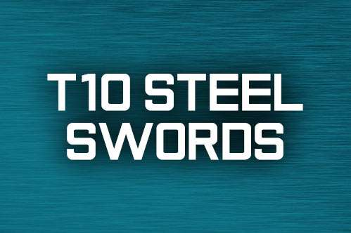 T10 Steel Swords