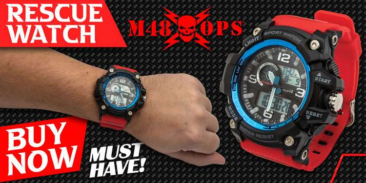M48 RED RESCUE WATCH
