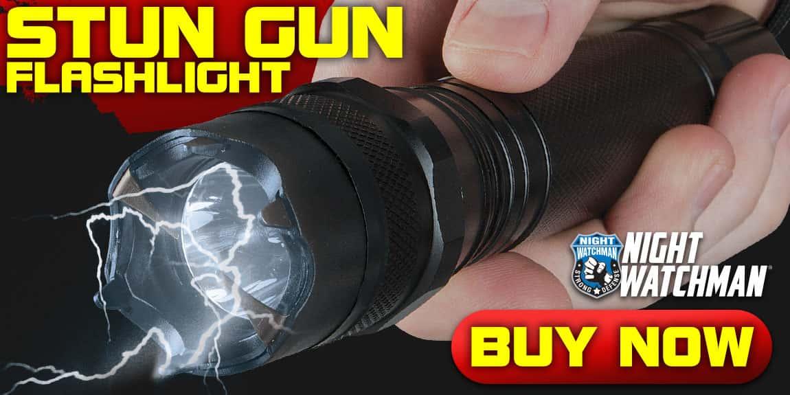 Night Watchman 2 Million-Volt Police Stun Gun Flashlight