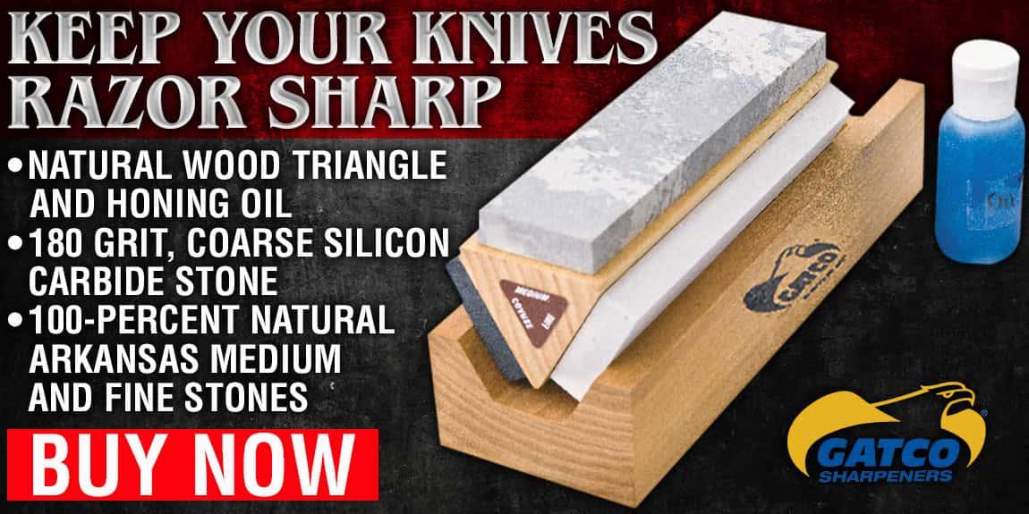 Gatco Arkansas Tri-Hone Sharpening System