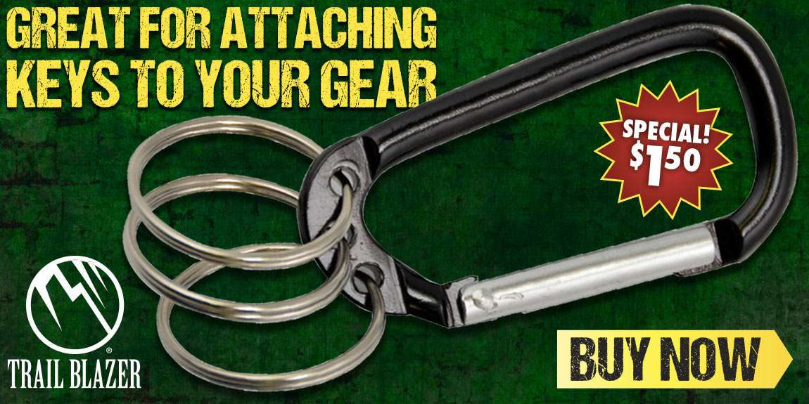 Trailblazer Multi Ring Carabiner