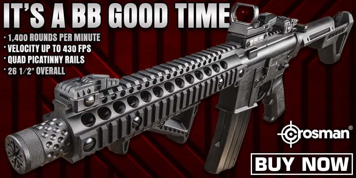 Crosman DPMS SBR Full Automatic Air Rifle
