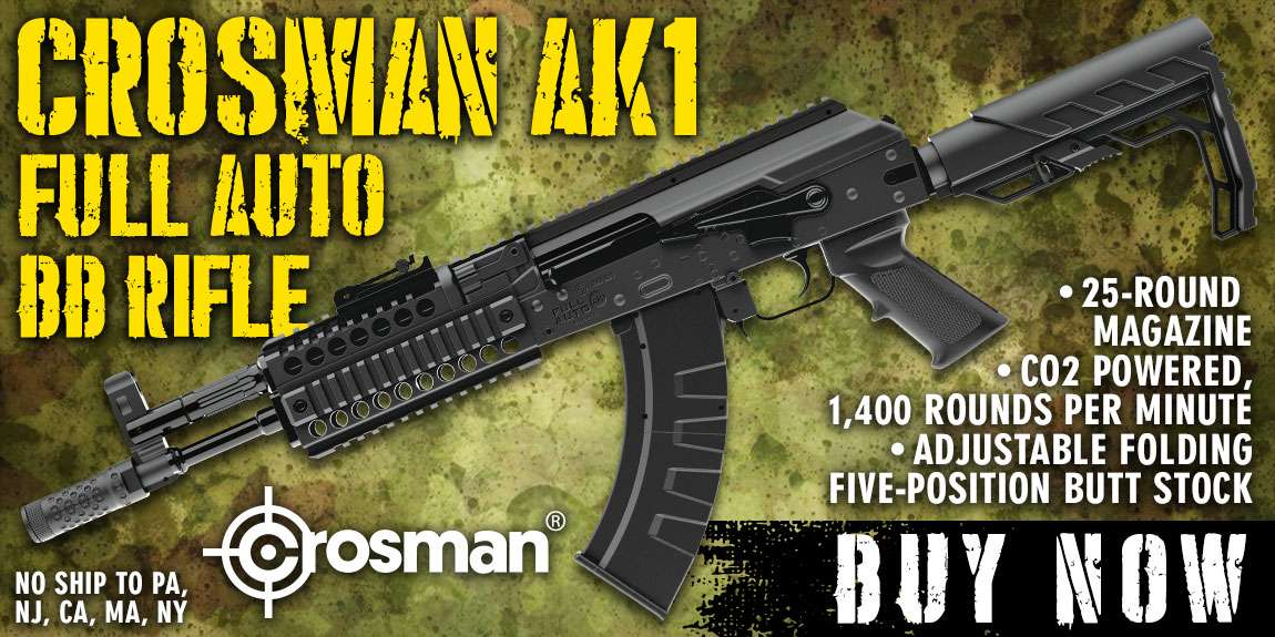 Crosman AK1 Full Auto BB Air Rifle