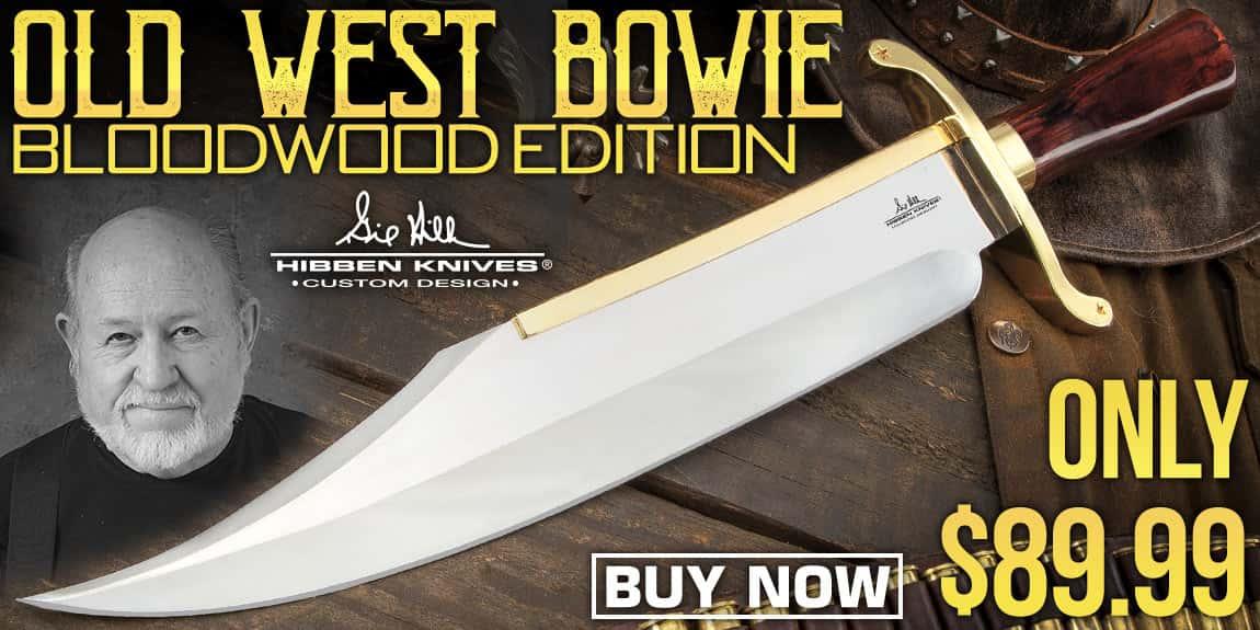 Hibben Old West Bowie Knife