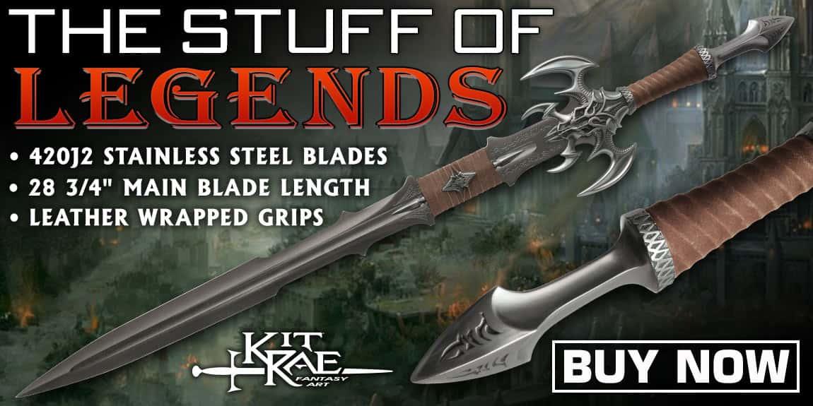 Kit Rae Exotath Special Edition Fantasy Sword