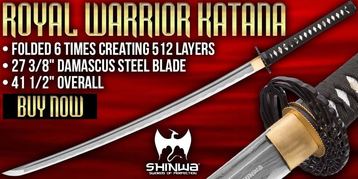 Shinwa Royal Warrior Handmade Katana