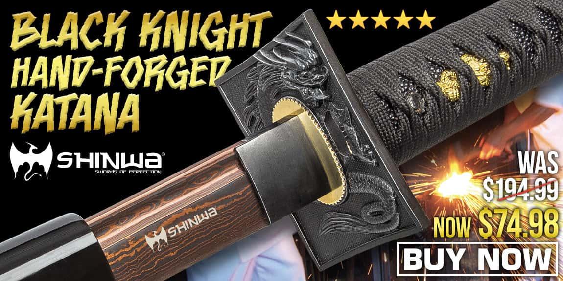 Shinwa Black Knight Handmade Katana