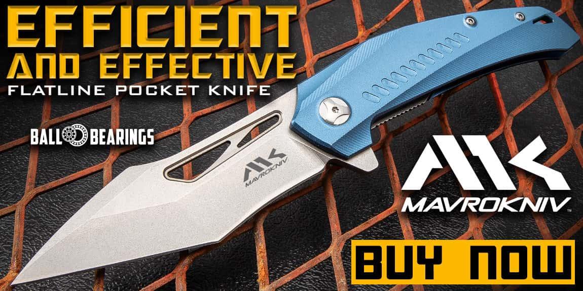 Mavrokniv Flatline Pocket Knife
