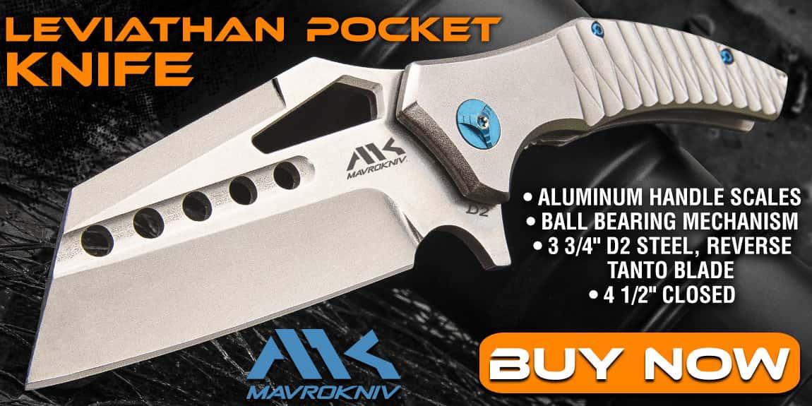 Mavrokniv Leviathan Pocket Knife