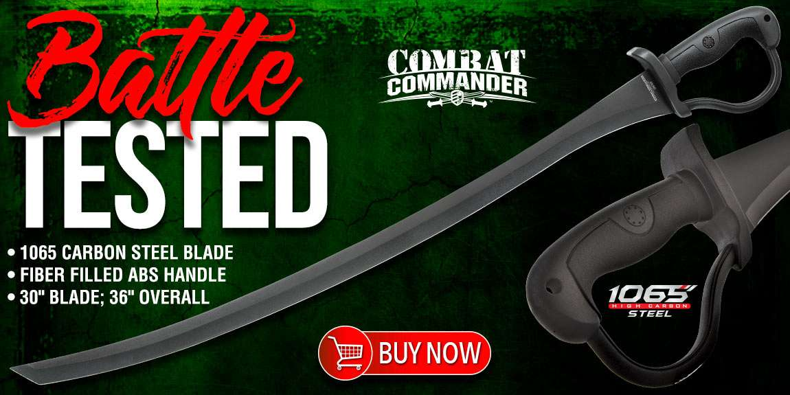Combat Commander Saber Sword