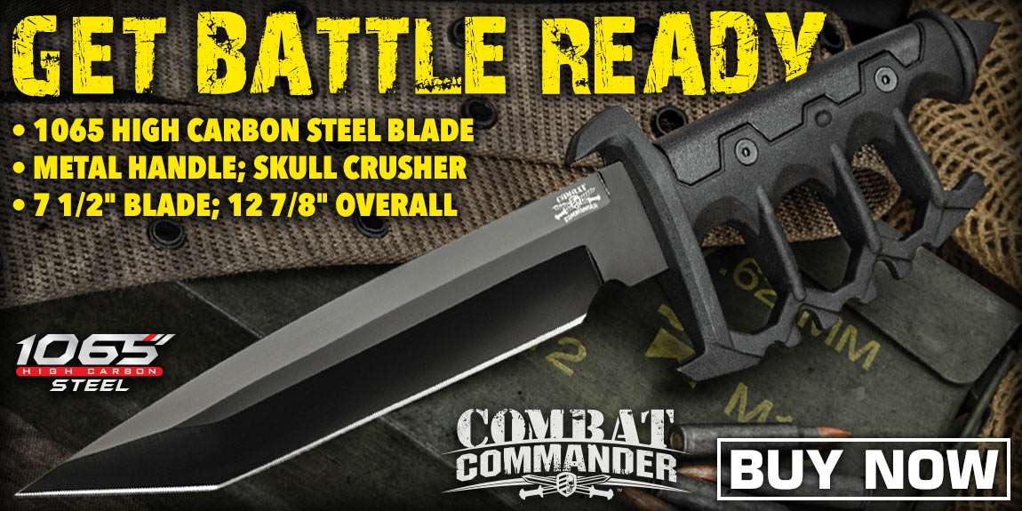 Combat Commander Trench Knife