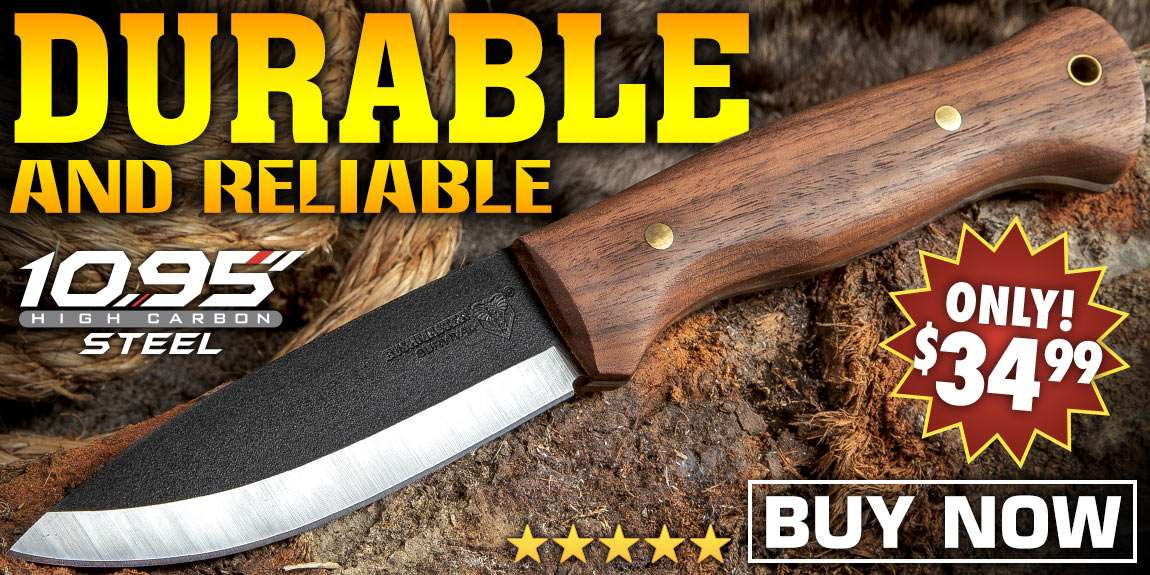 Bushmaster Bushcraft Explorer Fixed Blade Knife