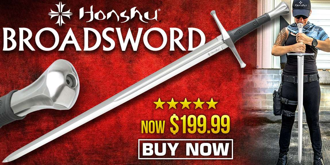 Honshu Broadsword With Scabbard