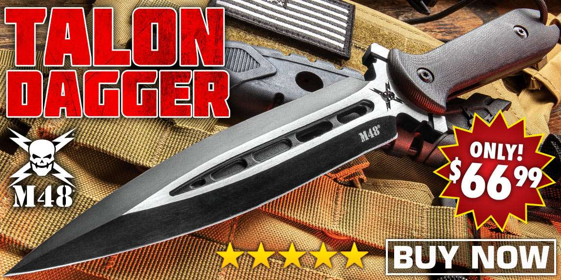 M48 Talon Dagger With Sheath