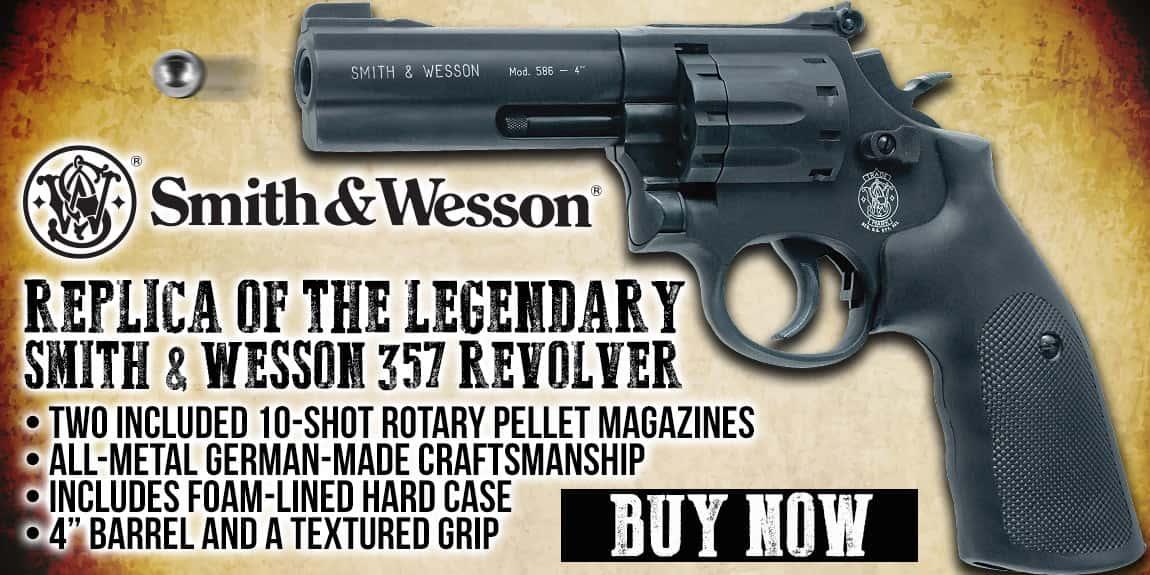 Umarex Smith & Wesson 357 Revolver Air Gun With Case