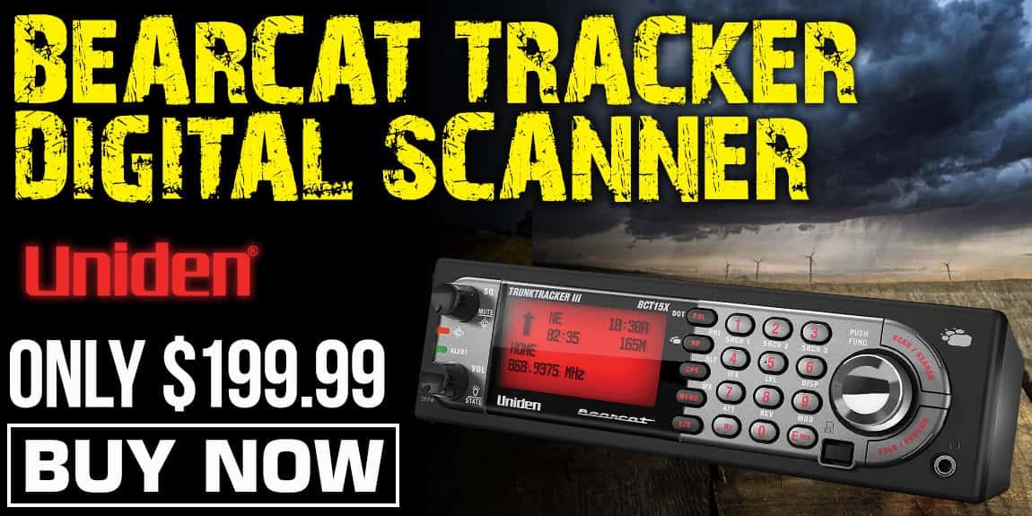 Bearcat Tracker Digital Scanner