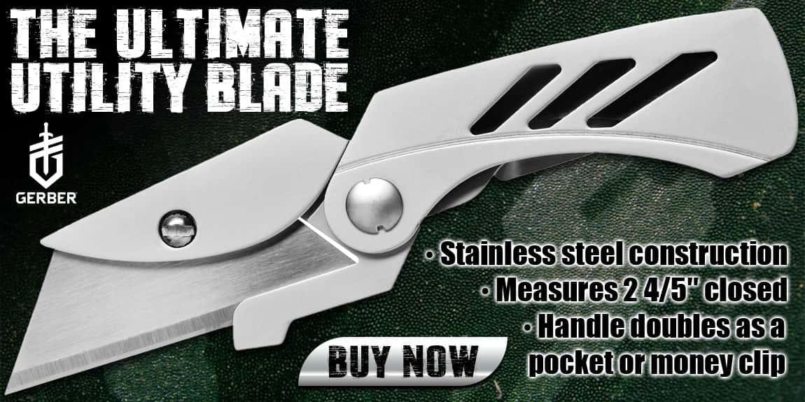 Gerber EAB Lite Fine Pocket Utility Knife