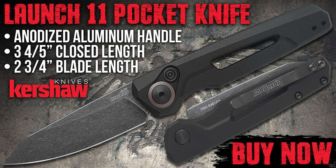 Kershaw Launch 11 Pocket Knife