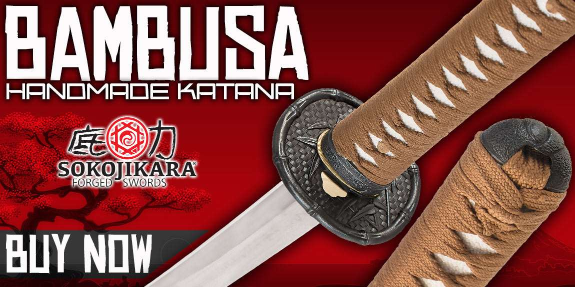 Sokojikara Bambusa Handmade Katana