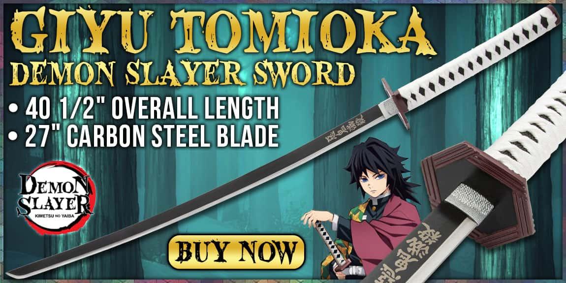Giyu Tomioka Demon Slayer Sword