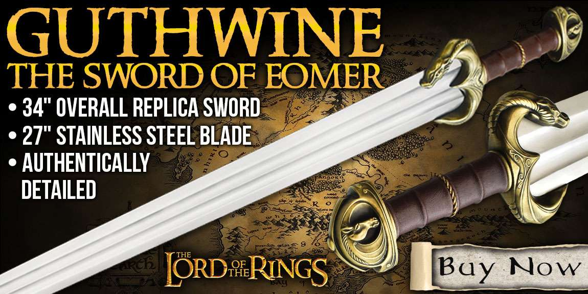 Lord Of The Rings Guthwine The Sword Of Eomer