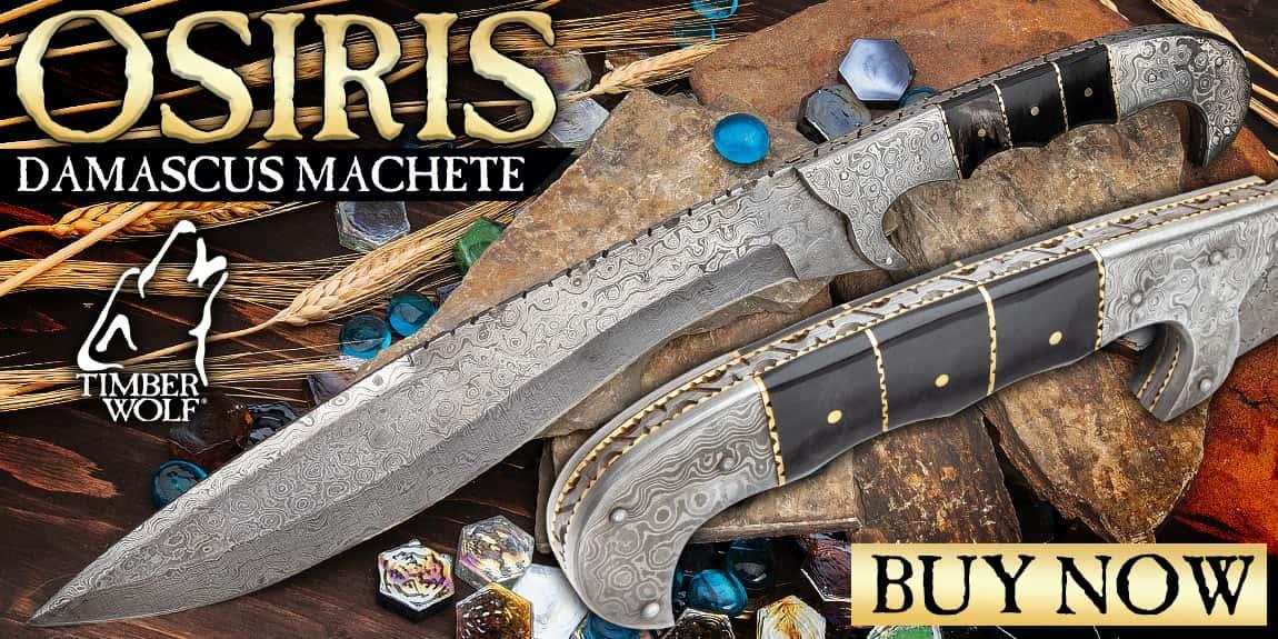 Timber Wolf Osiris Machete