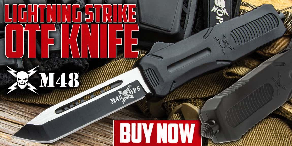 M48 Lightning Strike OTF Knife