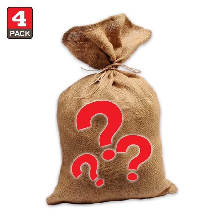 Outdoors Gear Scratch & Dent Sale Mystery Bag Four Pieces