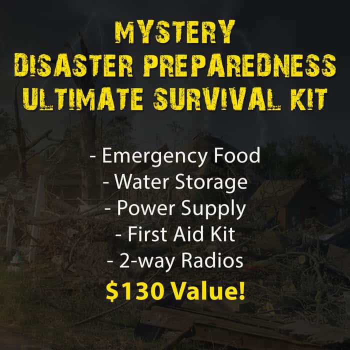 Mystery Disaster Preparedness Ultimate Survival Kit