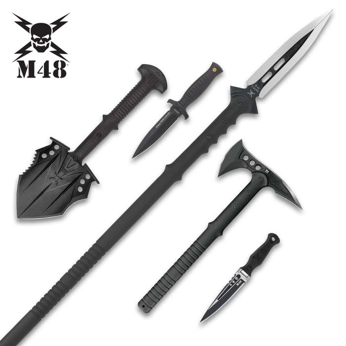 M48 Collector's Kit - Five-Piece Set, Save Tons Of Money, Most Wanted By Customers, Tools And Knives, Top-Grade Construction And Materials