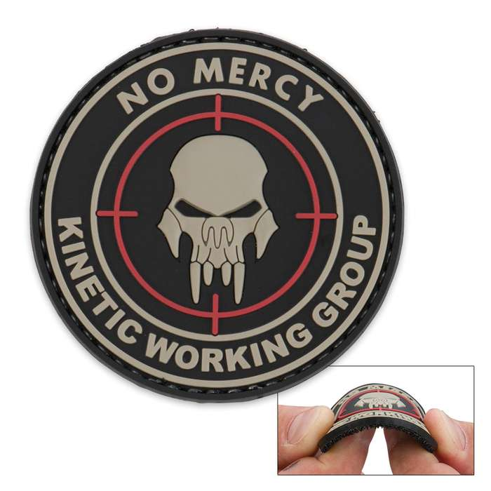 Morale Patch No Mercy
